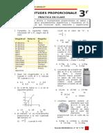 Práctica en Clase - Magnitudes Proporcionales