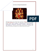 Nav Ratri Nine Forms of Durga