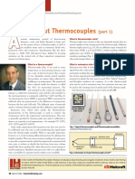 All About Thermocouples (Part 1)