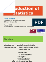1 Introduction to Statistics