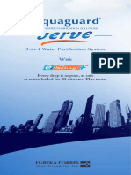 Aquaguard Verve User Manual