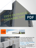 Tipos de Paneles Prefabricados