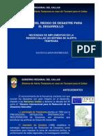 SAT - SISTEMA DE ALERTA TEMPRANA REGIÓN CALLAO 2009
