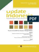 Update Indonesia Volume IX No 01 Agustus 2014 Bahasa Indonesia