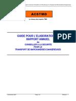 Guide ACSTMD Elaboration Du Rapport Annuel - V1