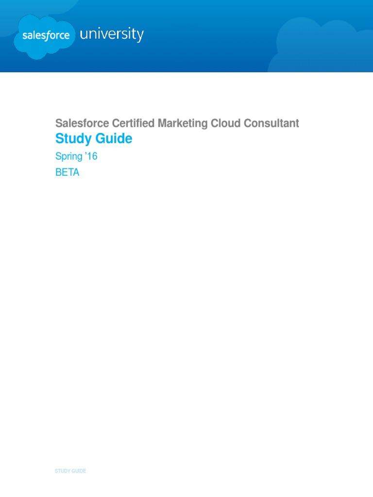 Salesforce certified marketing cloud consultant beta salesforce salesforce certified marketing cloud consultant beta salesforce test assessment 1betcityfo Gallery