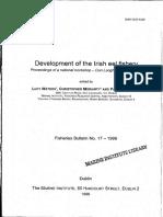 Development of Irish Eel Fishery
