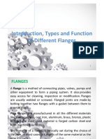 Introduction, Types and Function of Different Flanges .Pdfx