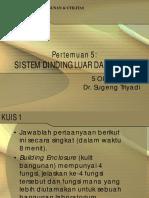 Kuliah 5 - Sistem Dinding Luar dan Dalam.pdf
