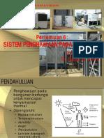 Kuliah 6 - Sistem Penghawaan Pada Bangunan