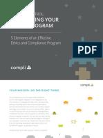 Compli - 5 Elements of an Effective Ethics & Compliance Program