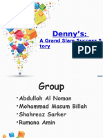 Presentation on Denny's