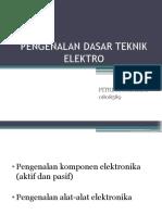 Pengenalan Dasar Teknik Elektro
