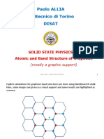 Solid State Physics - 04 Graphene