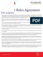 Important Rules for Pearson Test Takers