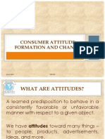 Consumer Attitude Formation and Change (1)
