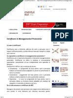Certificare in Managementul Proiectelor _ Managementul-Proiectelor