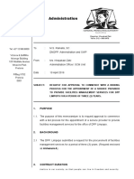 Approval for Commencement of bid Facilities Limpopo.docx