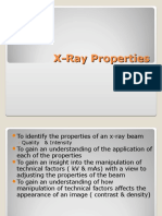 Xray Properties(2)