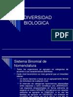 Diversidad biologíca  2014