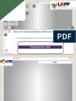 JEFRI Administrative Reform