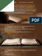 TAKO GOVORI GOSPOD - 2.Deo - Sveto Pismo o Hristu