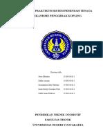 Laporan Praktikum Sistem Pemindah Tenaga 1