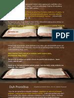 TAKO GOVORI GOSPOD - 3.Deo - Sveto Pismo o Svetom Duhu