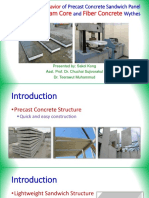 Flexural Behavior of Precast Concrete Sandwich Panel_Sakol_Kong