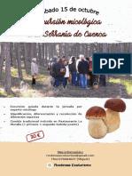 Excursión micológica Serranía de Cuenca 15-10-16