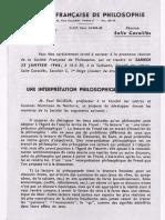 Archelogie Du Sujet (Paul Ricoeur)