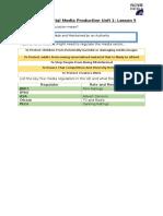 handout - cdmp unit 1 lesson 5
