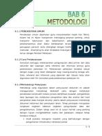 Bab 6 Metodologi