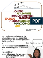 Bloguear o No Bloguear - Sandra Vega