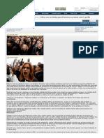Polonia Vive Una Huelga General Femenina en Protesta Contra La Posible Prohibición Del Aborto - Burbuja