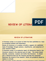 9 Review of Literature