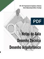 Apostila Desenho Técnico - Arquitetura