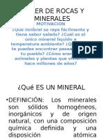 Taller de Rocas y Minerales 2