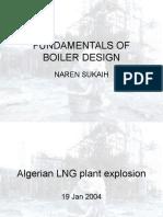 Fundamentals of Boiler Design