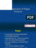 Management of Rape Victims