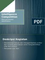 Mining Intelligence Competition