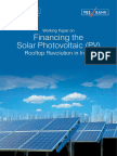 Financing Solar Photovoltaic Rooftop Revolution in India