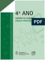 Lp_caderno de Atividades_3 Ano - 3 e 4 Bimestre