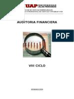 Curso Auditoria Financiera-Avances