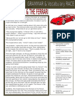 28872 Grammar Vocabulary Race the Old Man the Ferrari