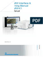 TSMW Interface and Programming Manual