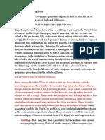 Free Enron Accounting Essay