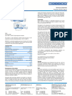 Teknisk Datablad - WEICON WEIDLING Plastik Metal C