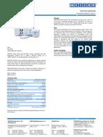 Teknisk Datablad - WEICON-HB-300