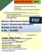 1013. ME_Engineering Mechanics